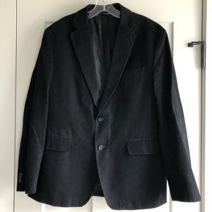 Banana Republic Men's Black Cotton Blazer Size 42S